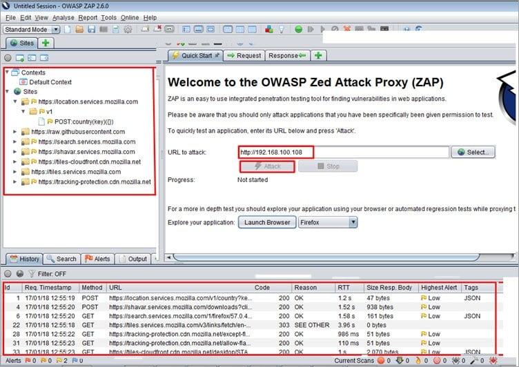 OWASP Screen