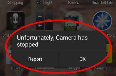 Camera error
