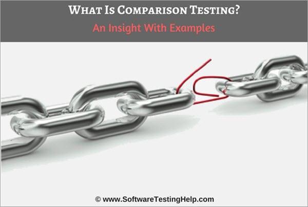 Comparison Testing