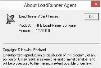 LoadRunner Agent