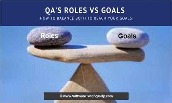 QA Roles vs Goals