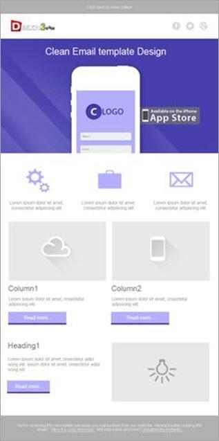 UI multi column layout