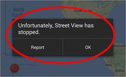 Maps Error