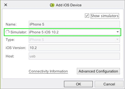 Add iOS Device