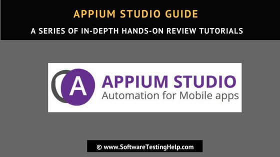Appium Studio Guide