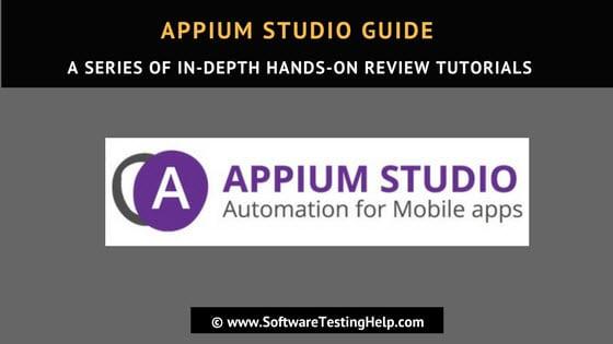 Appium Studio Tutorial