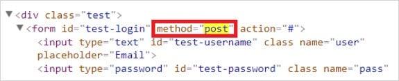 HTML Injection method