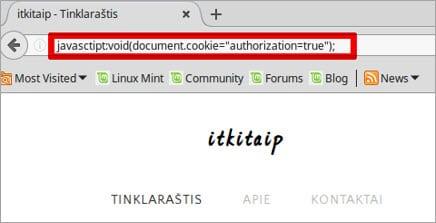 Javascript command