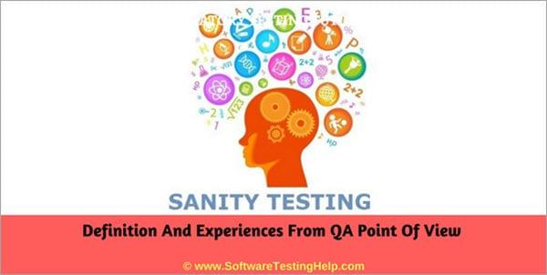 sanity testing