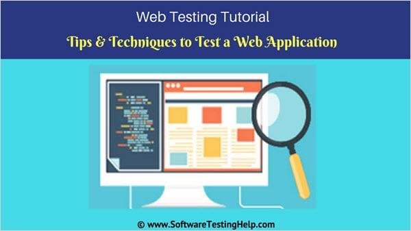 Web Application Testing