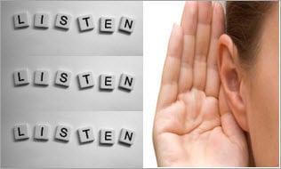 Good listener image