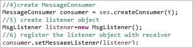 Message Listener
