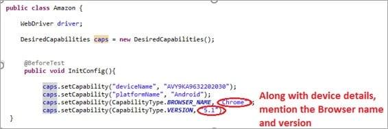 capabilities code