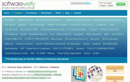 C++ Memory Validator