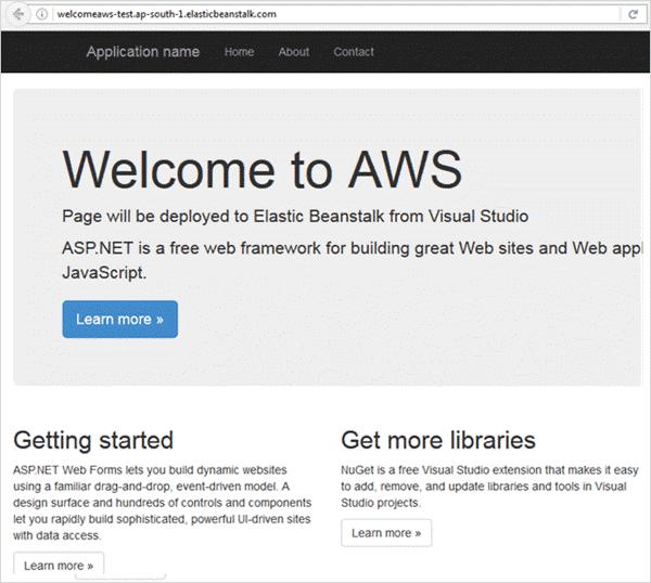 Launching URL
