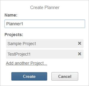 Create planner