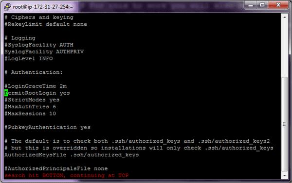 3.Edit config file