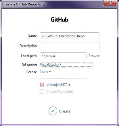 Create a GitHub repository