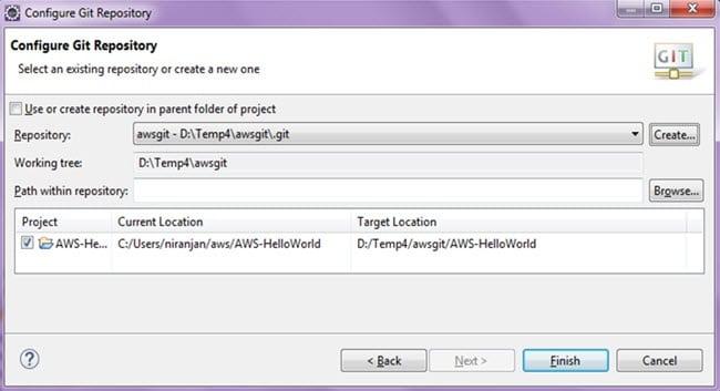 Configure Git Repository