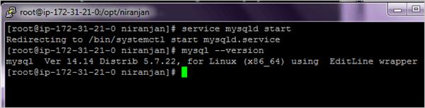 Start MySQL Server