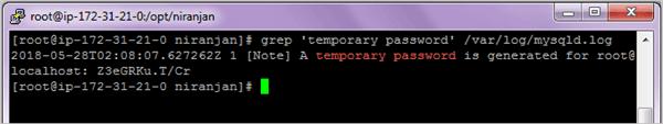 Configuring MySQL