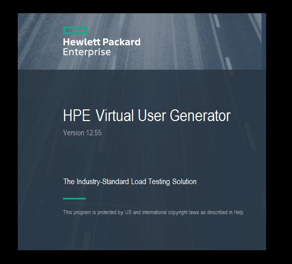 10.HPE Virtual User Generator