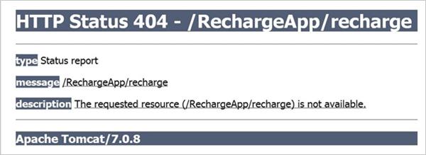Status code 404