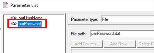 9.Rename the parameter
