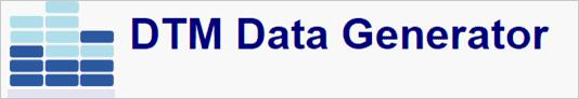 dtm data generator
