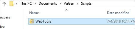 Script Folder