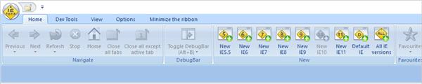 Navigation and Debugging Option