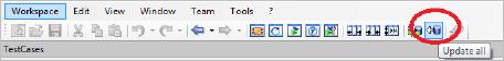 Update all icon in top menu bar