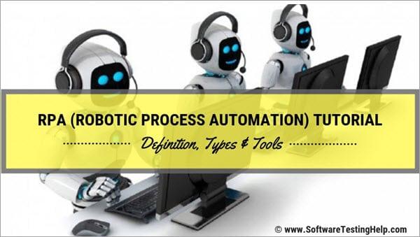RPA (Robotic Process Automation) Tools