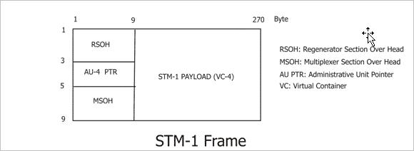 stm-1 frame