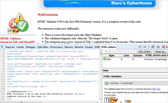 10. SKYNET HTML VALIDATOR