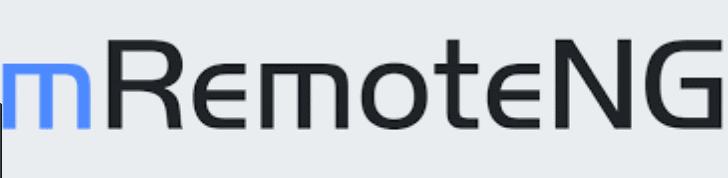 mRemoteNG Remote Desktop tool