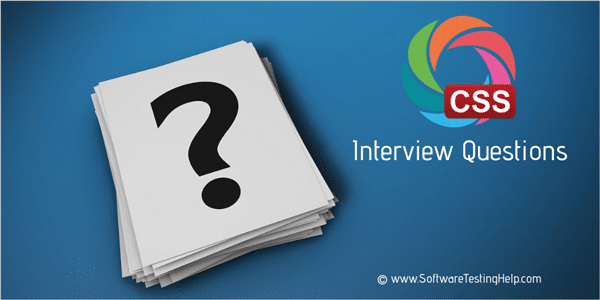 CSS interview questions (1)