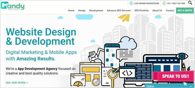 Mandy Web Design