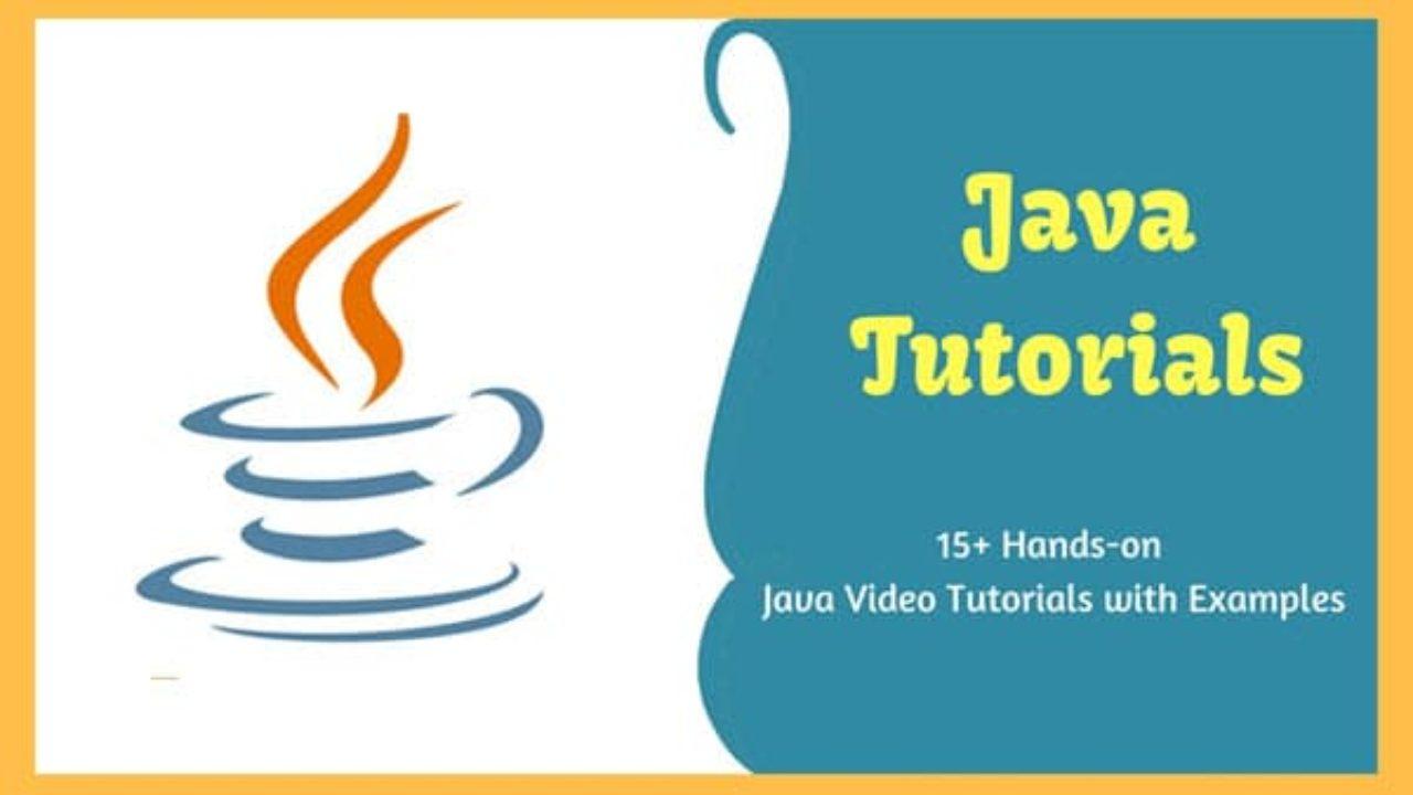 learn java online free video tutorials
