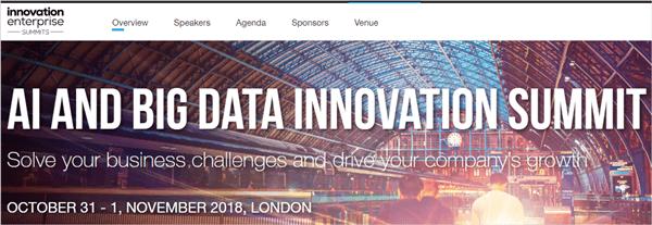 AI and Big Data Innovation Summit