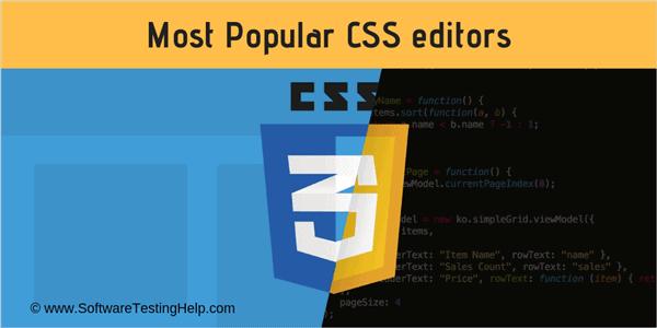 css editors