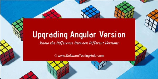 Angular versions