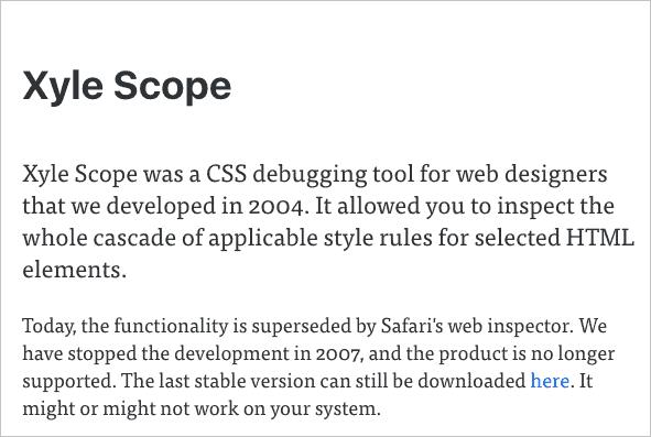 xyle scope