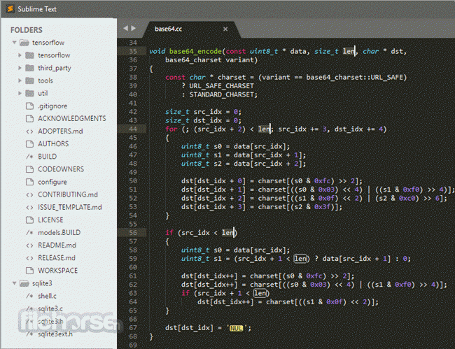 Sublime Text screenshot2