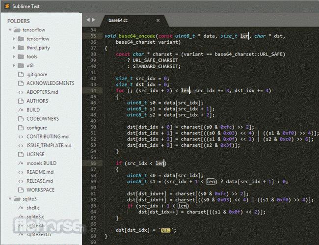 Sublime Text screenshot2