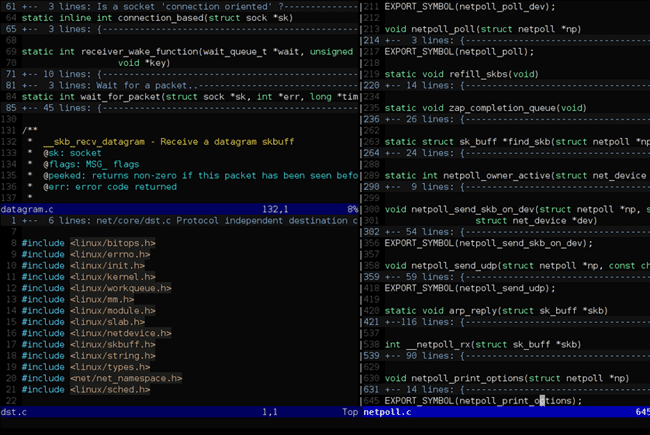 Vim screenshot1