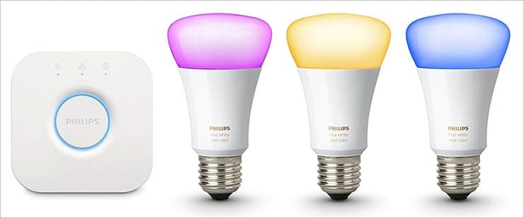Philips Hue Bulbs and Lighting System