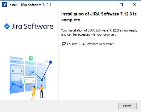 Jira Installation Last page