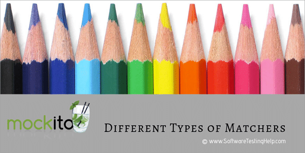 Different Types of Matchers provided by Mockito