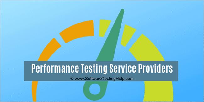 Performance Testing Service Provider Companies